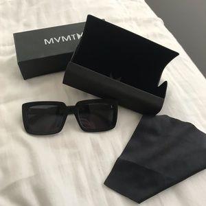 Black MVMT Sunglasses